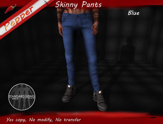 ~Pepper~Skinny Pants *Blue*