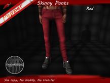 ~Pepper~Skinny Pants *Red*