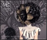MIAMAI_BL_Titania Headpiece Black