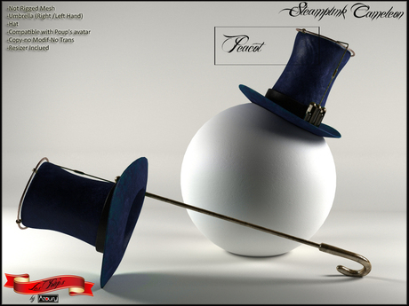 AZOURY - Steampunk Cameleon (Peacot)