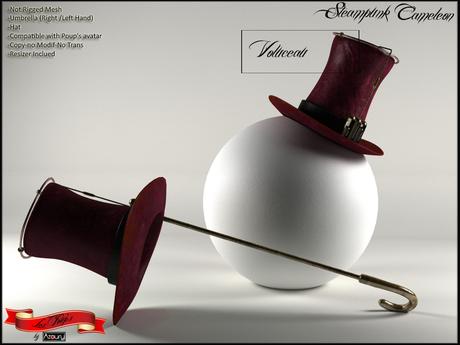 AZOURY - Steampunk Cameleon (Voluceau)