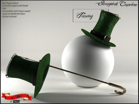 AZOURY - Steampunk Cameleon (Fairway)
