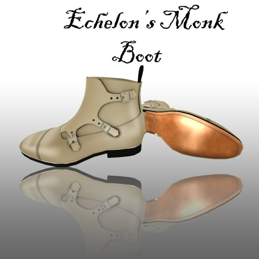 Monk Boots BuckSkin