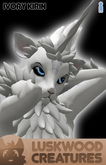 Luskwood Ivory Kirin Avatar - Male - Complete Furry Avatar