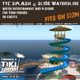 SPLASH & SLIDE Waterslide   Water Slide