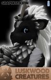 Luskwood Graphite Kirin Avatar - Male - Complete Furry Avatar