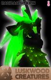 Luskwood Radioactive Kirin Avatar - Female - Complete Furry Avatar