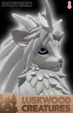 Luskwood Ivory Kirin Avatar - Female - Complete Furry Avatar