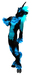 Kirin electricblue male standup