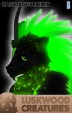 Luskwood Radioactive Kirin Avatar - Male - Complete Furry Avatar