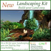 Landscaping Kit 11 (50 Prim 20x20 M Footprim)