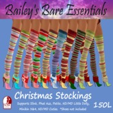 [BBE] Christmas Stockings 9 Pack
