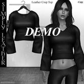 DE Designs - Simply Leather - Crop Top - DEMO