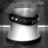 tapi :: modest collar