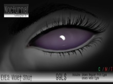 Nocturnal : Eyes_Violet Shut