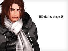HOT DIVE-skin & shape 28 all