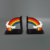 Rainbow Mesh Bookends