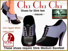 Bliensen + MaiTai - Cha Cha Cha - Shoes for Slink - Mauve