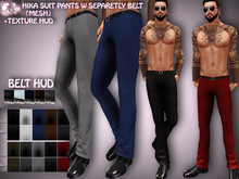 N1CO Hika Suit Pants w Texture HUD (mesh) BAGGED