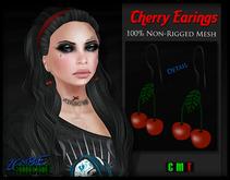 :Z.S: Cherry Earings