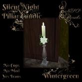 NSP Silent Night Candlestick (Wintergreen)