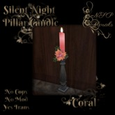 NSP Silent Night Candlestick (Coral)
