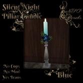 NSP Silent Night Candlestick (Blue)
