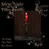 NSP Silent Night Candlestick (Heather)