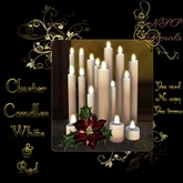 NSP Cluster Candles (White & Red) boxed