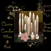 NSP Cluster Candles (White & Pink) boxed