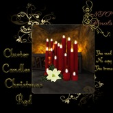 NSP Cluster Candles (Christmass Red) boxed