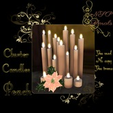 NSP Cluster Candles (Peach) boxed