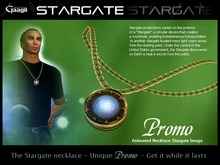Gaagii - Stargate Necklace (BOXED) V1