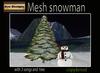 Mesh snowman-box