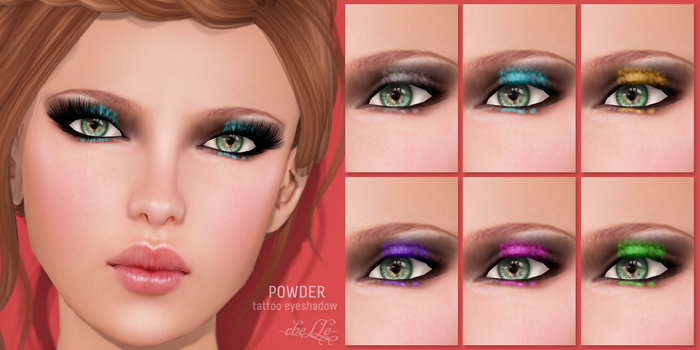 cheLLe (eyeshadow) Powder
