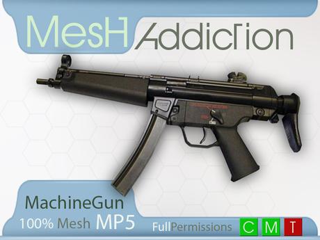 [MA] Mesh MP5 Machine gun (boxed)