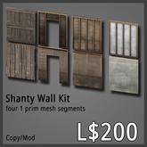 [agu] Shanty Wall Kit