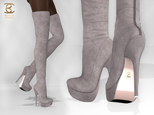 BAX Regency Boots Taupe Suede