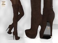 BAX Regency Boots Chocolate Suede