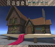 Fairy Book Cottage - Mesh - 45 LI - (RageWorks)
