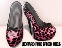 * [BE] - Leopard spiked pink heels *** 24 h SUPER PROMO 5L ***