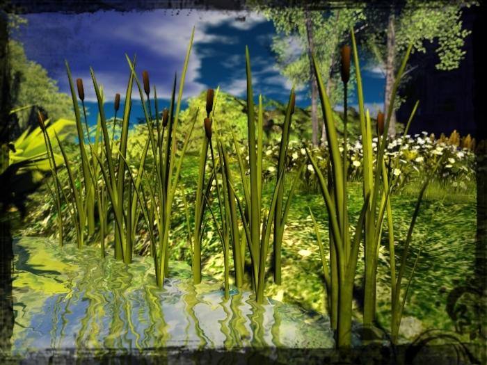 Reeds / Cattails   (Mesh)