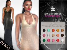 Bens Boutique - Mesh Hollywood Gown DEMO