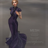Snowpaws - Illiana Amethyst Gown