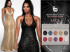 Bens Boutique - Mesh Lace Hollywood Gown