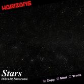 Strato-Cube Scene - Stars 6-Megapixel 360x180 Panorama Mesh Skybox