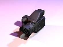 645 Pro Photo Camera Body - textured