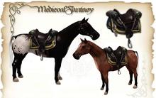 [MF] Mesh Horse with saddle (boxed)