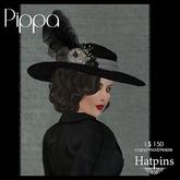 Hatpins - Pippa Hat - Shades of Grey