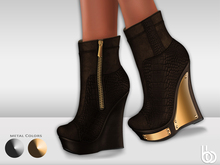 Bens Boutique - Lexi Wedges Brown